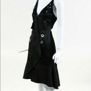 Proenza Schouler Black Crepe Dress